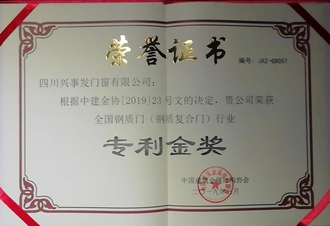 专利金奖(1